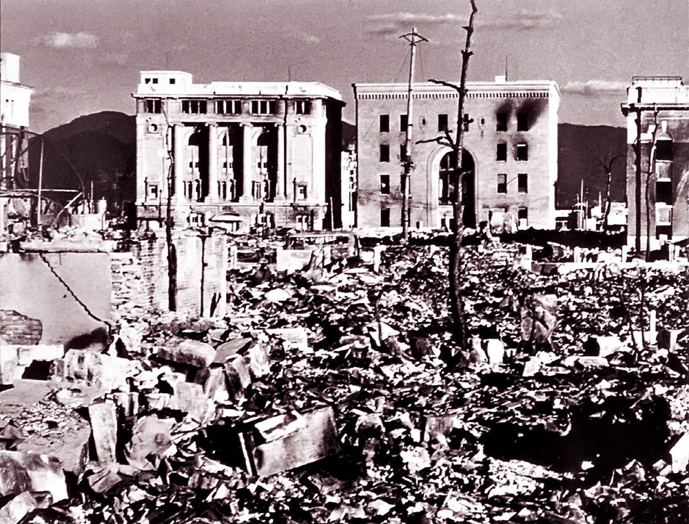 the history and results of bombing hiroshima The story of nagasaki like hiroshima two years after the bombing plants growing at ground zero presaged the frightening genetic aberrations in humans.